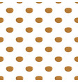 potato pattern seamless vector image vector image