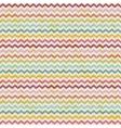retro color vintage popular zigzag chevron vector image vector image