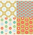 Seamless pattern wallpaper christmas ball