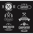 Set of logo label badge and logotype elements vector image vector image