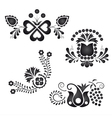 Traditional folk ornaments vector image vector image