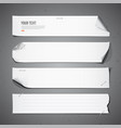 White paper long collections vector | Price: 1 Credit (USD $1)