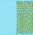 abstract floral background with holly vector image