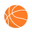 basketball ball orange icon clipart vector image