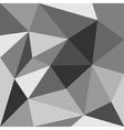 Grey flat triangle background or seamless pattern vector image vector image
