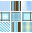 Set of plaid patterns vector | Price: 1 Credit (USD $1)