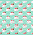 shrimp nigiri sushi seamless pattern on vector image