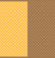 waffle-textures vector image vector image