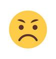 yellow angry cartoon face emoji people emotion
