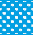 ice pattern seamless blue vector image