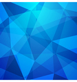 Abstract crystal background low poly texture vector image vector image
