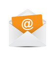email envelope concept vector image vector image