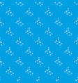 ethyl acetate pattern seamless blue vector image vector image