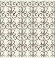 fragment of decorative lattice in baroque style vector image vector image