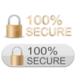 ssl certificates signs for website vector image