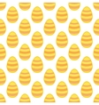 Tile pattern with easter eggs on white background vector image vector image