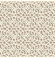 vintage lace ornament seamless pattern vector image vector image