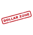 Dollar Zone Rubber Stamp vector image vector image