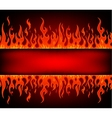 Fire stripe with free space vector | Price: 1 Credit (USD $1)