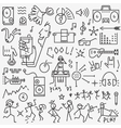 music party - icons set vector image vector image