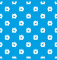 safe money pattern seamless blue vector image vector image