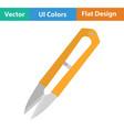 seam ripper icon vector image vector image