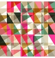 Seamless pattern of geometric shapes Geometric vector image vector image