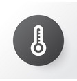 thermometer icon symbol premium quality isolated vector image