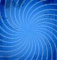 Vintage spiral blue background vector image vector image