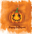 watercolor halloween background 0509 vector image vector image
