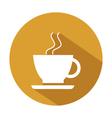 icon coffee mug vector image