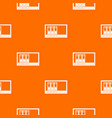 office folders on the shelf pattern seamless vector image vector image