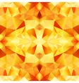 Orange crystal abstract seamless pattern vector image