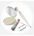 Products Cosmetics Set vector image vector image