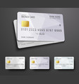 Templates for design of a credit debit bank card