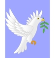 Dove flying cartoon