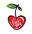 inspirational poster love you vector image vector image