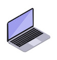 laptop isometry icon vector image vector image