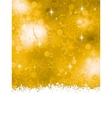 Orange Christmas Background EPS 8 vector image vector image