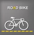 Road Bike vector image vector image
