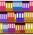 seamless shelfs vector image
