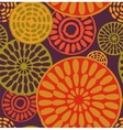 Tribal African simple seamless pattern vector image vector image