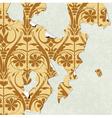 vintage wallpaper torn vector image vector image