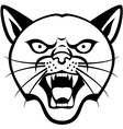 Panther Head tattoo vector image
