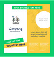 air turbine company brochure template busienss vector image vector image