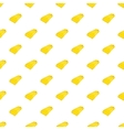 Gold bar pattern cartoon style vector image vector image