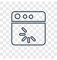 loading concept linear icon isolated on vector image