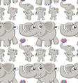 Seamless different post elephant