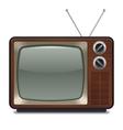 Vintage Television vector image vector image