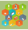 Science Icon Isometric style Medical symbol vector image